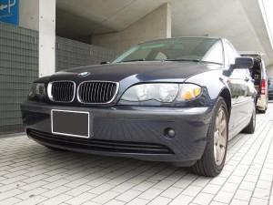 BMWのデントリペア
