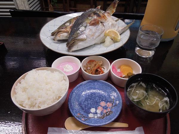 海鮮料理 ばくだん ブリ兜かま焼き定食