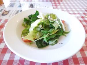 イタリア食堂 セットのサラダ