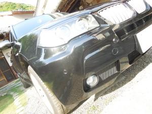 BMW X3のデントリペア