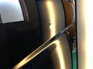 トヨタ ハイエースのデントリペア