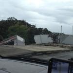 台風26号被害
