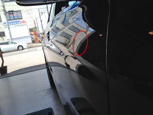 BMW320dのデントリペア