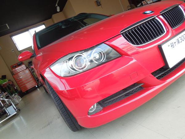 BMW320iのデントリペア