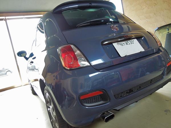 FIAT500 フィアット500のデントリペア