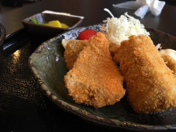 アジフライ定食|金谷食堂