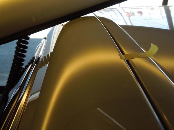 レクサスLS460のデントリペア
